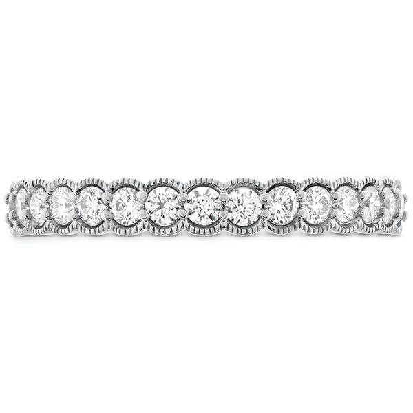 Women's Wedding Bands - 0.42 ctw. Isabelle Milgrain Diamond Band in 18K White Gold