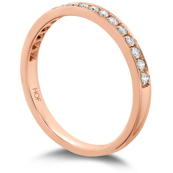 Anniversary Bands - 0.2 ctw. Lorelei Bloom Diamond Band in 18K Rose Gold - image #2