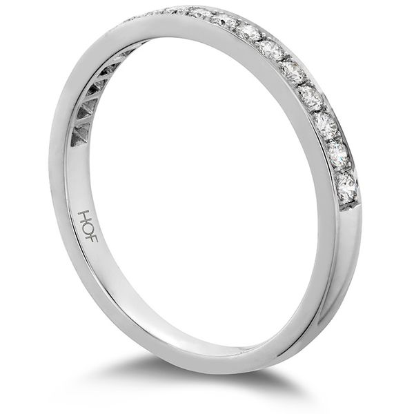 Anniversary Bands - 0.2 ctw. Lorelei Bloom Diamond Band in 18K White Gold - image #2