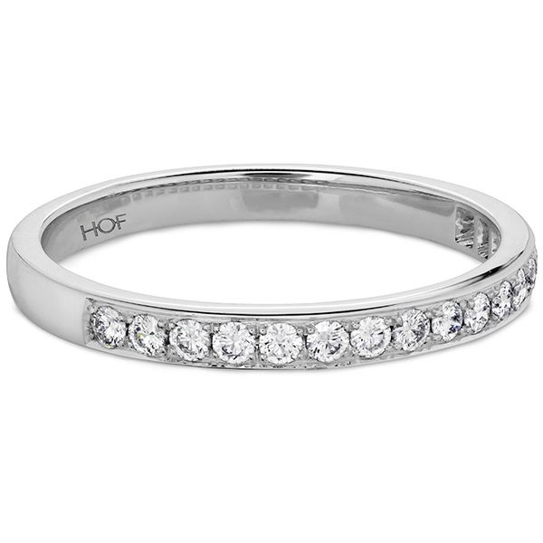 Anniversary Bands - 0.2 ctw. Lorelei Bloom Diamond Band in 18K White Gold - image #3