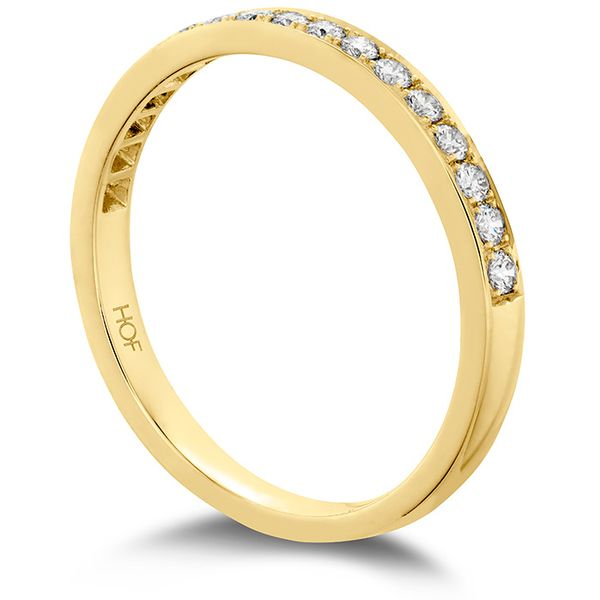 Anniversary Bands - 0.2 ctw. Lorelei Bloom Diamond Band in 18K Yellow Gold - image #2