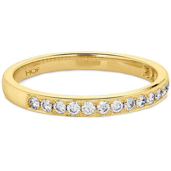 Anniversary Bands - 0.2 ctw. Lorelei Bloom Diamond Band in 18K Yellow Gold - image #3