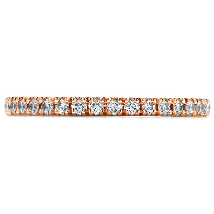 Women's Wedding Bands - 0.25 ctw. Transcend Wedding Band in 18K Rose Gold
