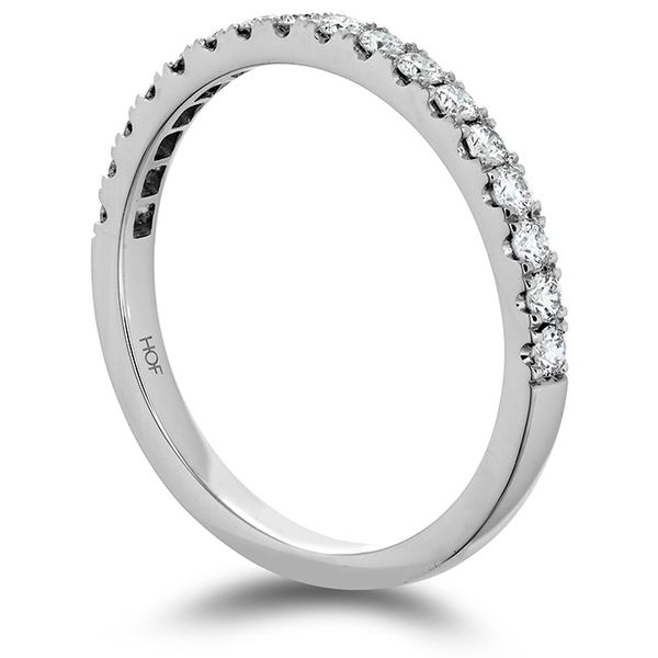 Women's Wedding Bands - 0.35 ctw. Transcend Premier Diamond Band in Platinum - image 2