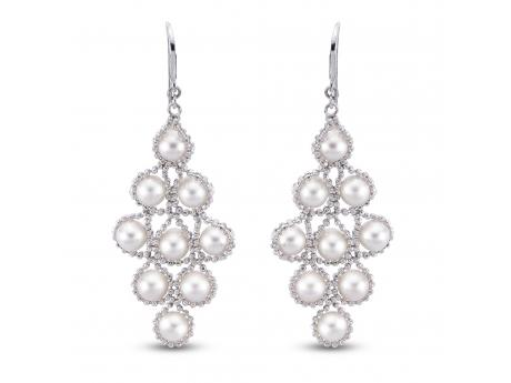 Imperial Lace Earring by Imperial Pearls