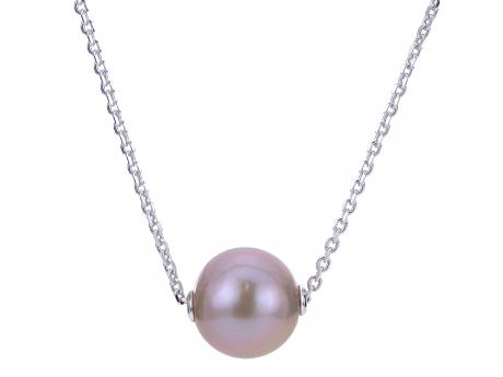 Sterling Silver Freshwater Pearl Necklace - 18