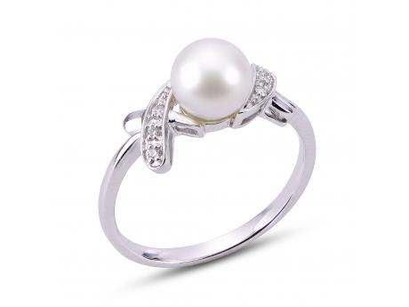 a159857ef 14K White Gold Freshwater Pearl Ring 914512/WH-7 | Rings from ...