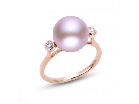14K Gold Rose Freshwater Pearl Ring by Imperial Pearls