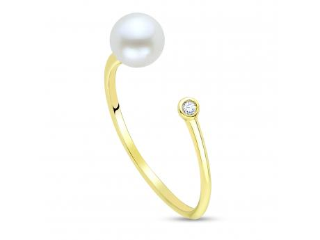 716175f5c 14K Yellow Gold Freshwater Pearl Ring 917200/FW | Pearl Rings from Morrison  Smith Jewelers | Charlotte, NC