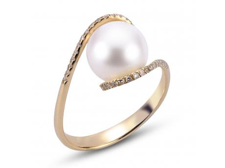 510bf36b5 14K White Gold Freshwater Pearl Ring 918001/FW | Rings from Patterson's  Diamond Center | Mankato, MN