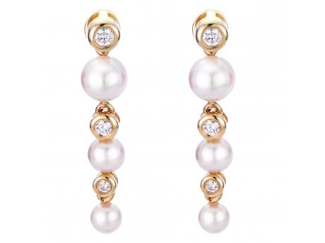 Imperial Gold Earring by Imperial Pearls
