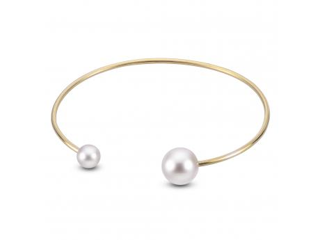 14K Yellow Gold Freshwater Pearl Bracelet by Imperial