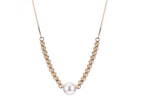 Imperial Gold Brilliance Necklace by Imperial Pearls