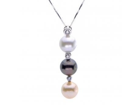 Imperial Gold Pendant by Imperial Pearls