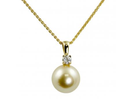 products golden south collection sea pendant ribbon mm pearl
