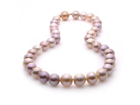 Imperial Pearl Necklace - 14KR 17-18