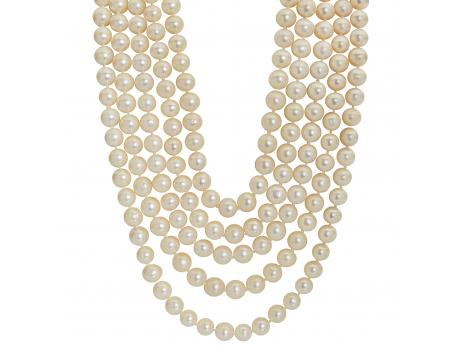 Imperial Pearl Necklace - 100