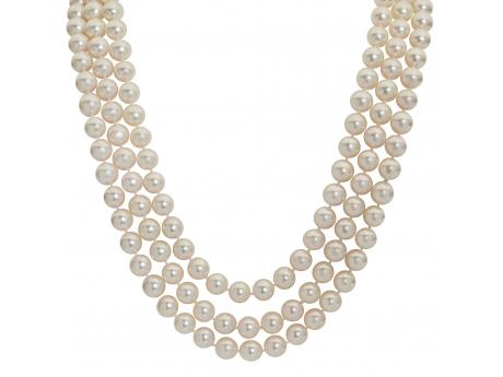 Imperial Pearl Necklace - 80