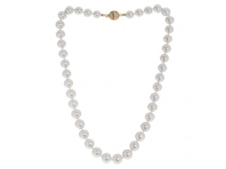 14K Yellow Gold Freshwater Pearl Necklace by Imperial Pearls
