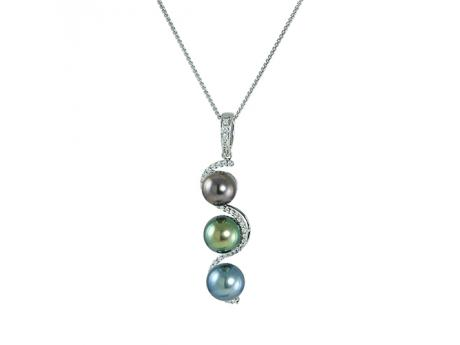 Sterling Silver Tahitian Pearl Other by Imperial