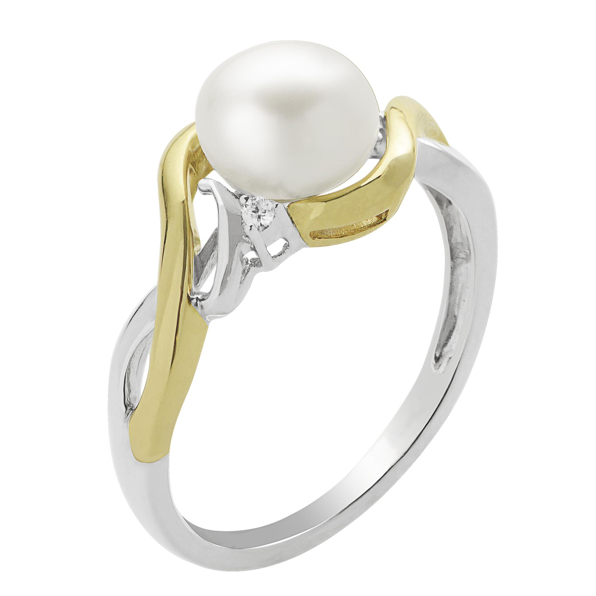69b77596e Home · All Jewelry · Rings · Pearl Rings; 14K Yellow Gold Freshwater Pearl  Ring