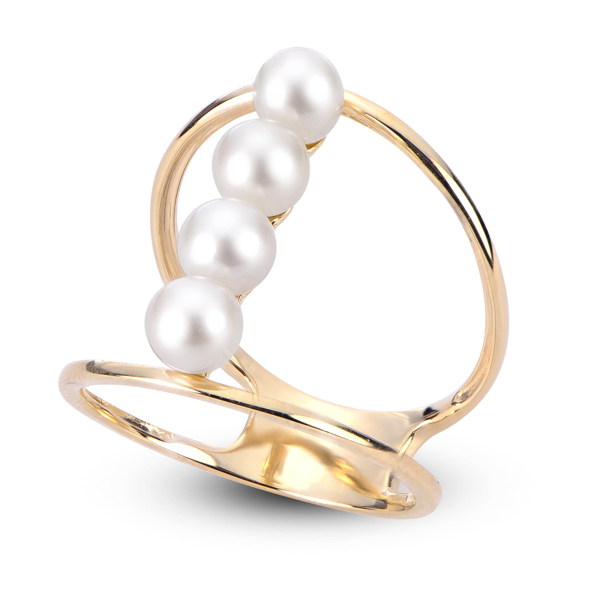 427af406c 14K Yellow Gold Freshwater Pearl Ring 918776/FW-7 | Rings from Alan ...