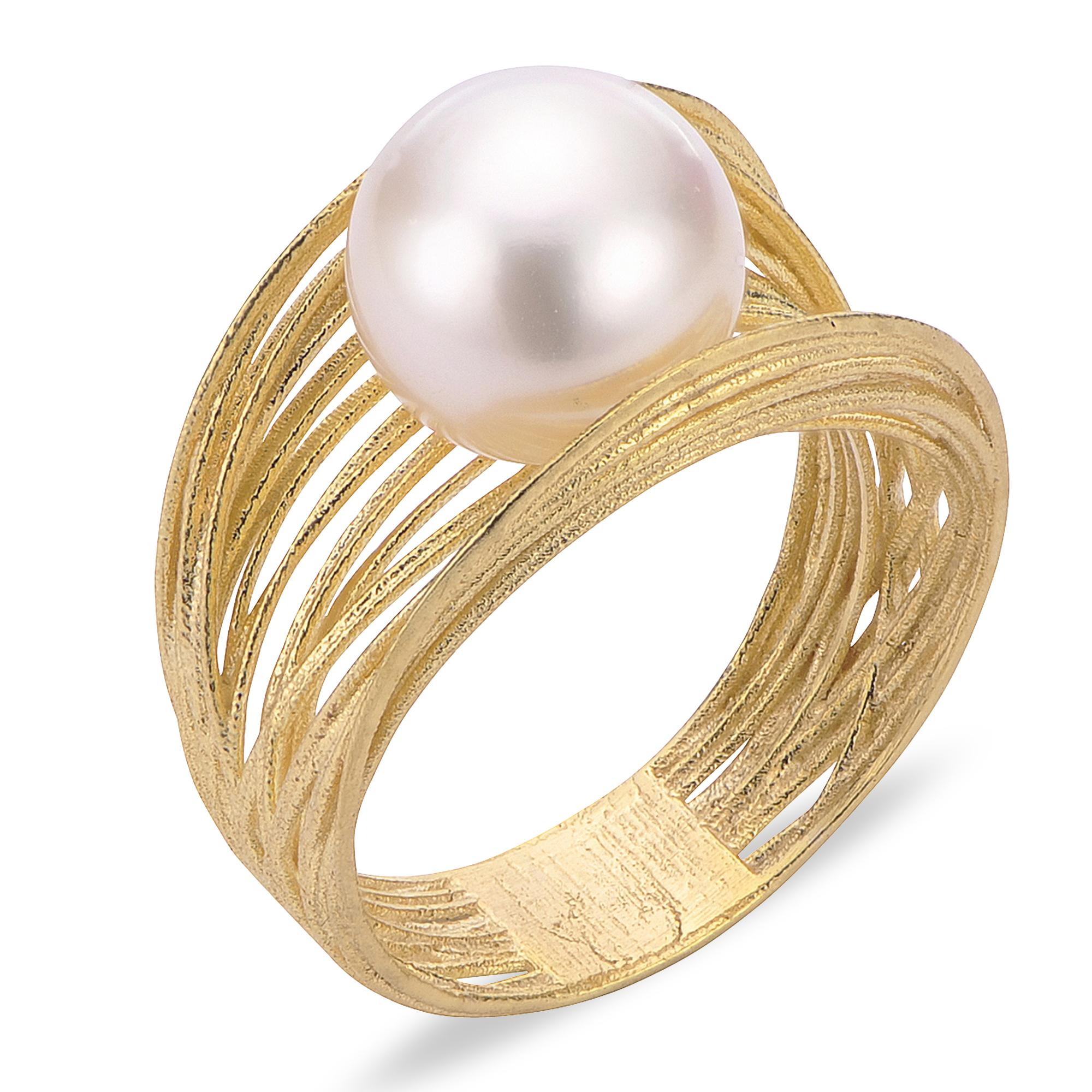 fa62ea434 14K Yellow Gold Freshwater Pearl Ring 918820/AAFW | Rings from Alan ...