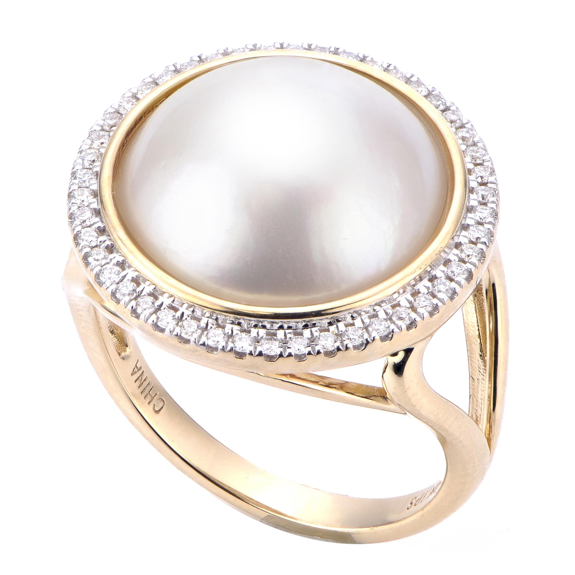 rings collection wedding ring akoya products scroll pearl