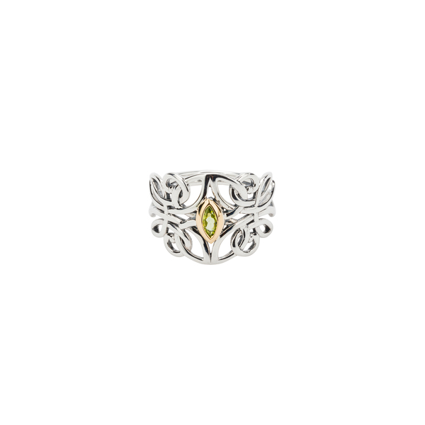 Guardian Angel Sterling Silver Ring by Keith Jack