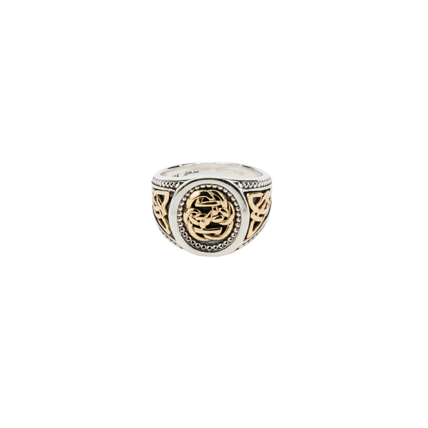 Path of Life Sterling Silver Ring by Keith Jack