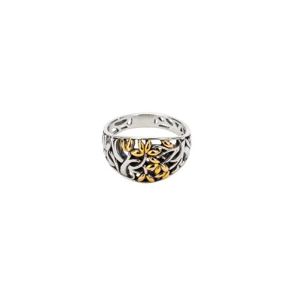 Tree of Life Sterling Silver Ring by Keith Jack