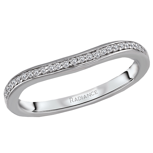 Curved Wedding Band by Radiance
