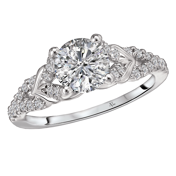 Classic Semi-Mount Diamond Ring by La Vie