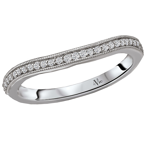Rings - Curved Wedding Band