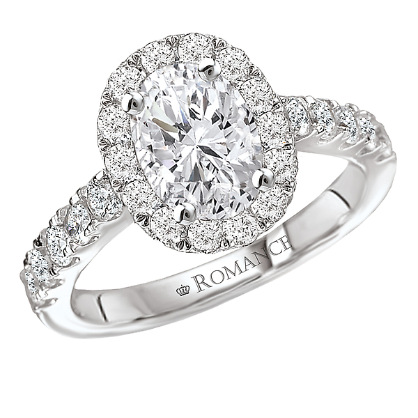 8952004af Halo Semi-Mount Diamond Ring 117403-100 | Engagement Rings from Alan ...