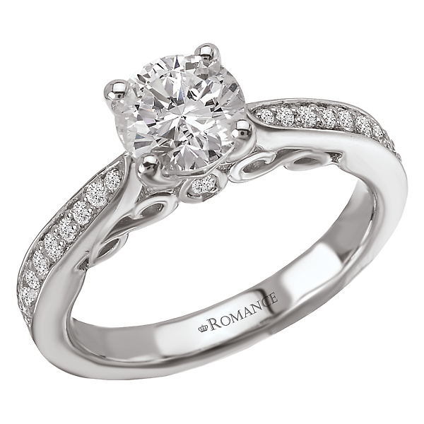 Rings - Classic Semi-Mount Diamond Ring