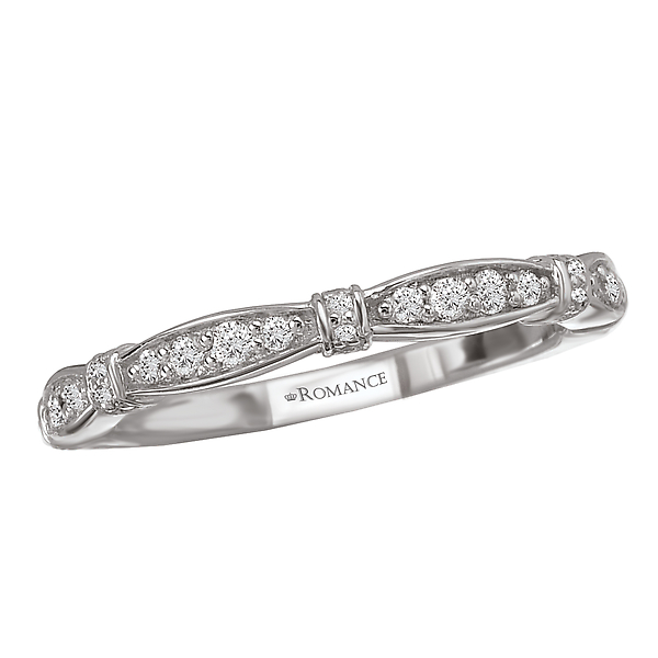 Matching Wedding Band by Romance Diamond
