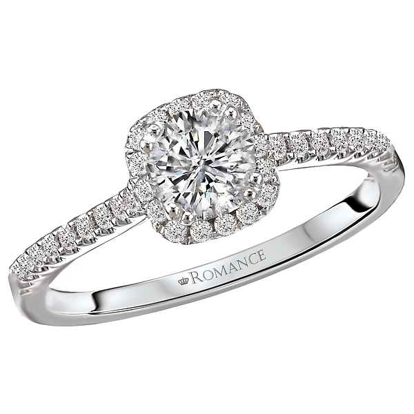 Engagement Rings - Halo Diamond Ring