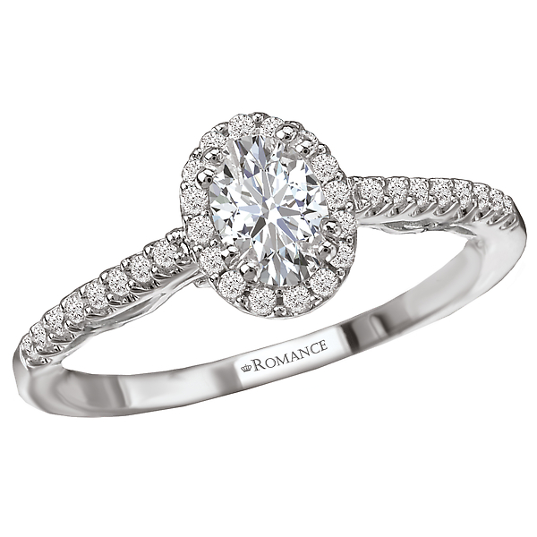 Halo Diamond Ring by Romance Diamond
