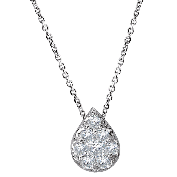 Ladies Fashion Diamond Necklace by Radiance