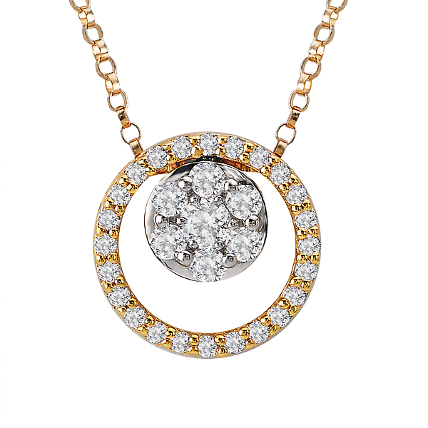 Diamond Slide Pendant by Radiance