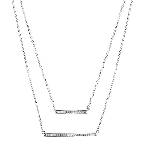 Ladies Fashion Diamond Necklace by Tesoro
