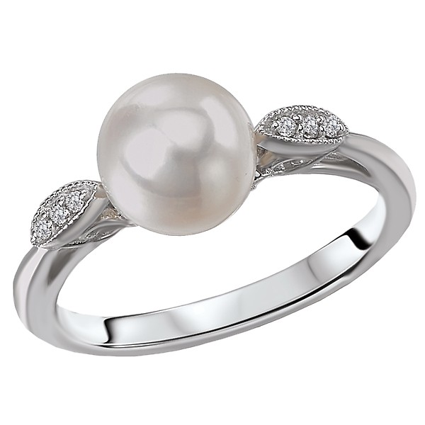 Rings - Ladies Fashion Pearl Ring