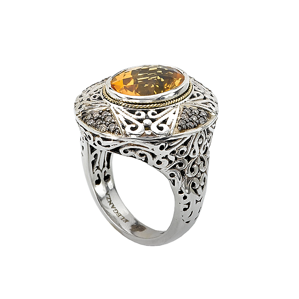Rings - Ladies Fashion Gemstone Ring - image 3