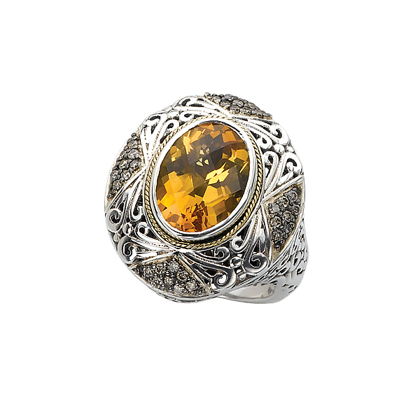 Rings - Ladies Fashion Gemstone Ring - image #4