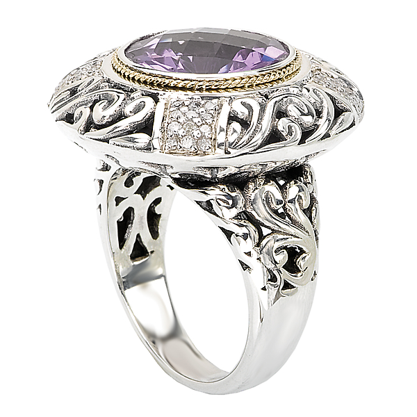 Rings - Ladies Fashion Gemstone Ring