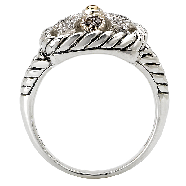 Rings - Ladies Fashion Diamond Ring - image #2