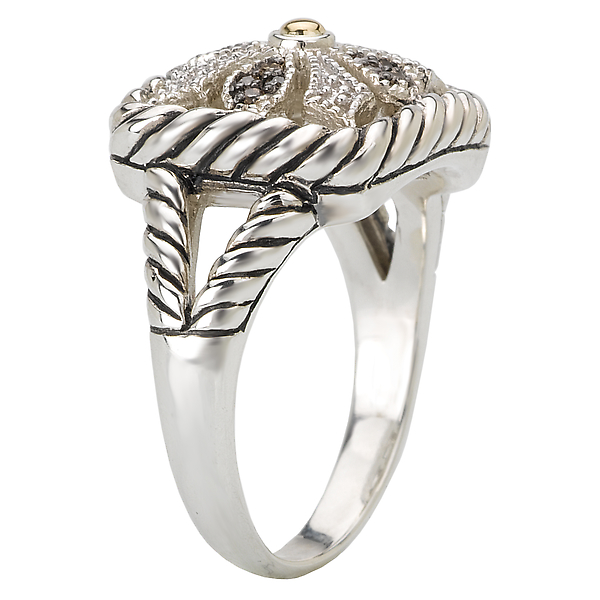 Rings - Ladies Fashion Diamond Ring - image #3