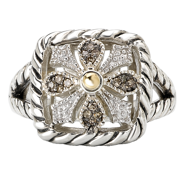 Rings - Ladies Fashion Diamond Ring - image #4