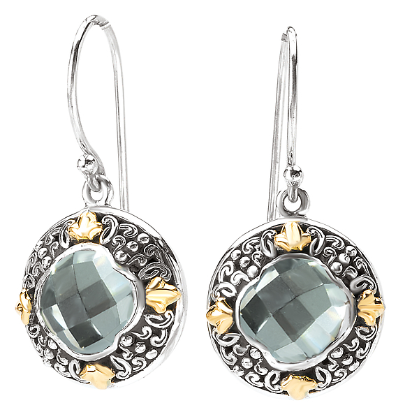 Ladies Fashion Gemstone Earrings by Eleganza